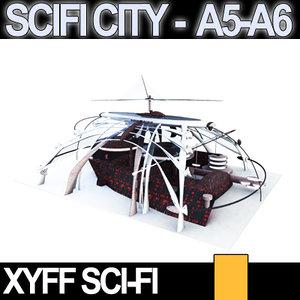 3d xyff scifi a5 a6