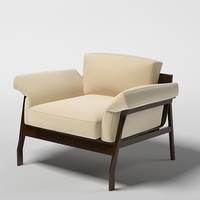 cassina comfortable modern 3ds