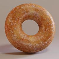 donut 3d obj