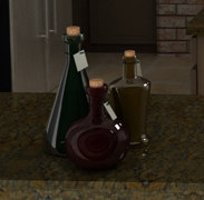 3ds max glass bottles