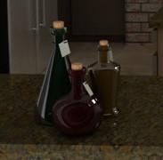 3ds max glass bottles