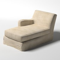 lounge chair relax 3d model