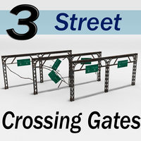 Street Crossing Gates