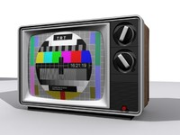 3d model television