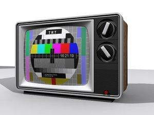 3d model television