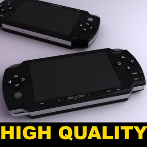obj sony psp console
