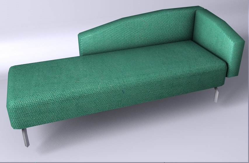 c4d chair furniture