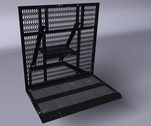 c4d barricada moderna