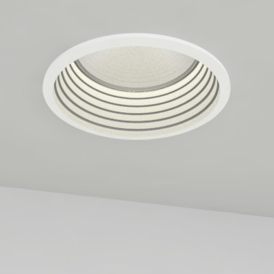 3ds recessed light baffle