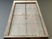 medieval doors 3d 3ds