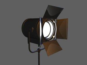 3d spotlight light