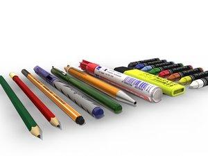 cinema4d pen pencil fineliner