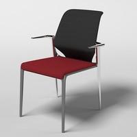 vitra meda meda 41730201 office chair stool