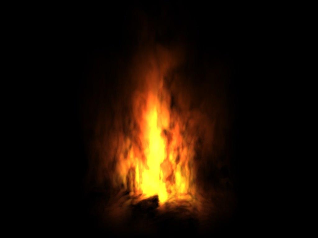 light flame 3d model