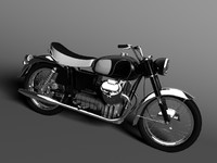 3ds max moto guzzi 850 california