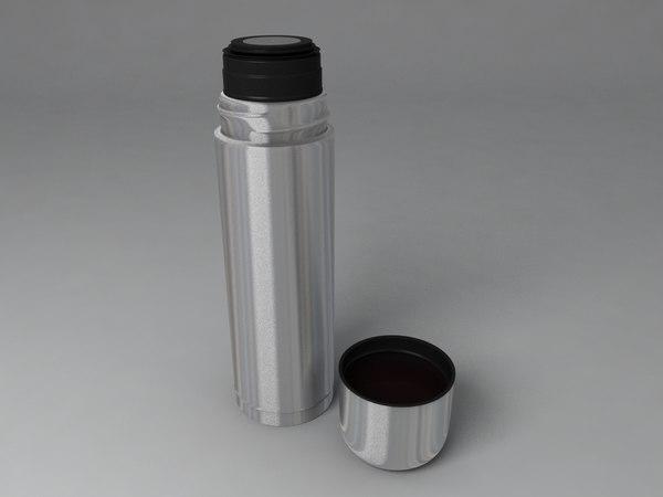 termobottle termo bottle 3d model