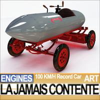 Record Car La Jamais Contente