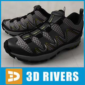 3d athletic shoes
