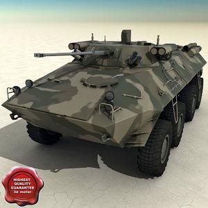 3d btr 90 model