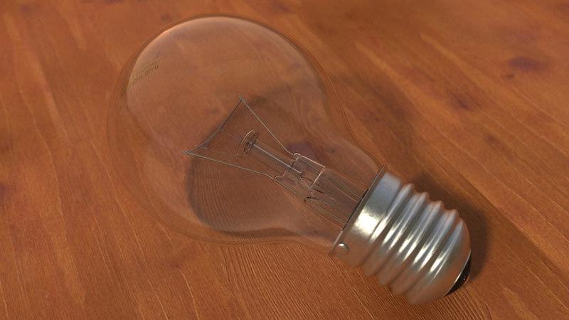 3ds max lighting bulb
