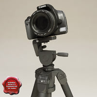 Canon EOS 400D and Tripod Slik Professional