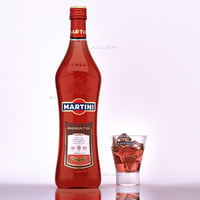 Martini ROSATO glass