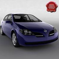 3d model nissan primera