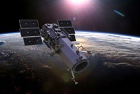 3d digitalglobe satellite model