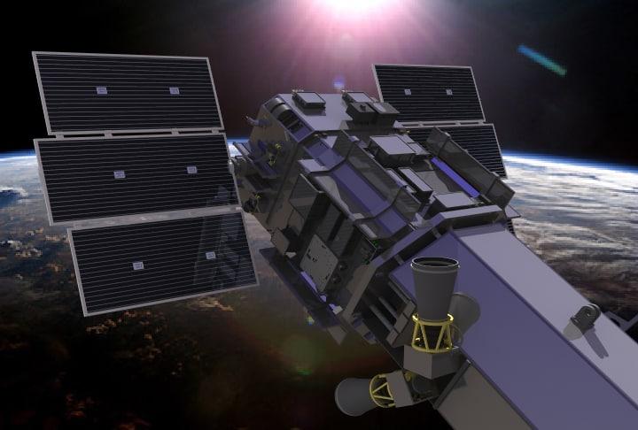 Digitalglobe Satellite Model - Worldview 2 satellite