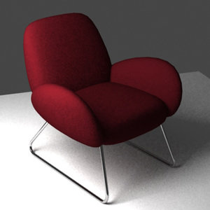 couch comfy 3d model