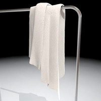 towel hanger 3d model