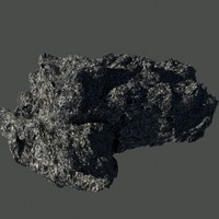 large asteroid 3d model