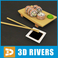 California roll by 3DRivers
