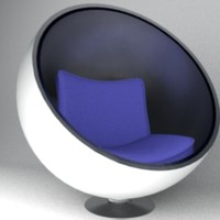 free max mode spherical modern chair