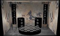 dance room 3d model