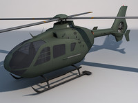 ec 135 helicopter games 3d model