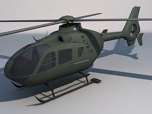 ec 135 helicopter games 3d model