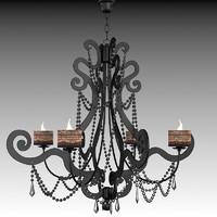 ego zeroventiquattro contemporary classic art deco glamour chandelier