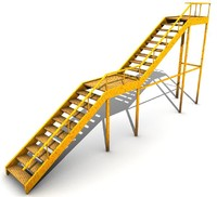 escada externa c4d