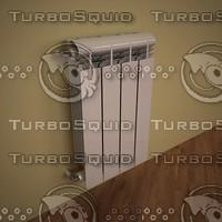 3dsmax heating radiator