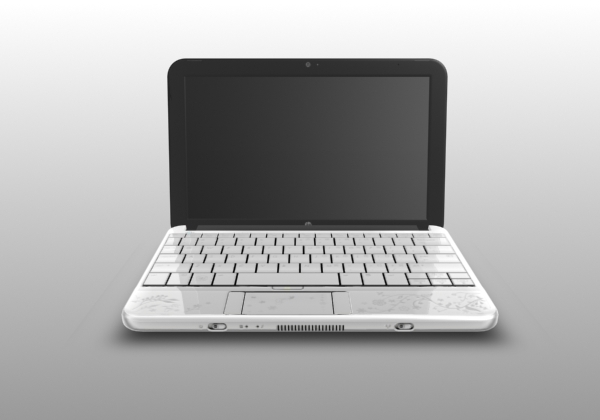 3d max hp mini notebook