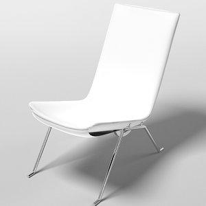 3ds metrix modo chair