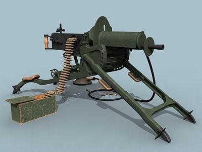 3d model german wwi heavy