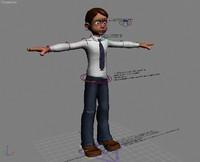 free max model mogan animation character