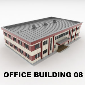 3ds office building 08