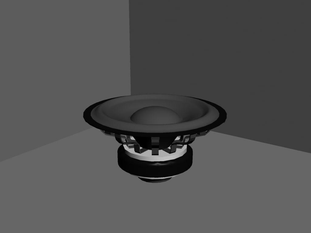 3d speaker car