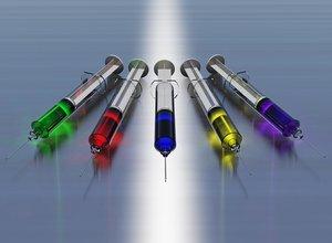 syringes 3d max