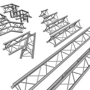 truss rigging steelwork 3d model