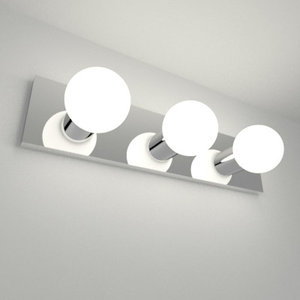 3d bathroom vanity light
