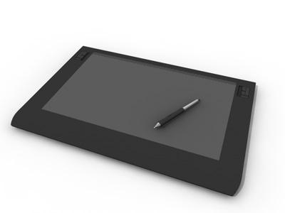 wacom intuos 3d model